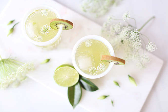 Spring Equinox Kiwi Elderflower Smash + Eau Claire Distillery Prickly Pear EquineOx Giveaway! // JustineCelina.com