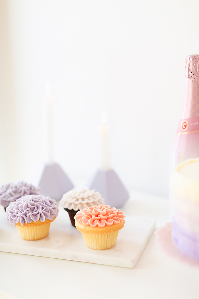 My 3rd Blogiversary + 10 Things I Learned in my Third Year of Blogging | Lavender and Blush Garden Cupcakes | A Pantone Spring 2018 Inspired Birthday Celebration // JustineCelina.com