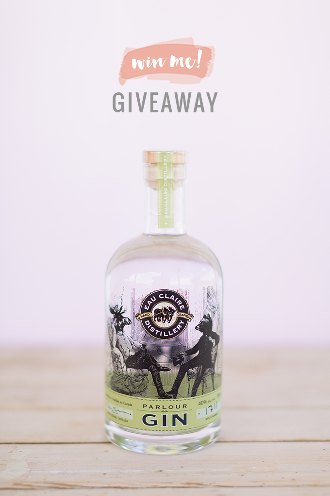 Japanese Lilac Gin Lemonade + Eau Claire Distillery Parlour Gin Giveaway! | The Best Spiked Lemonade Recipe | #RefinedSugarFree #Lemonade // JustineCelina.com