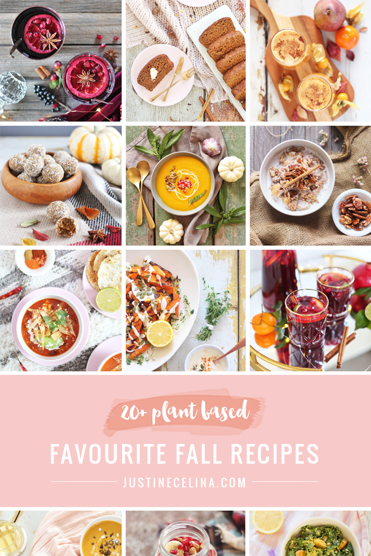 20+ Favourite Fall Recipes | The Best Healthy, Plant Based Recipes for Fall 2018 | #Vegan #Vegetarian #GlutenFree #RefinedSugarFree #PlantBased // JustineCelina.com