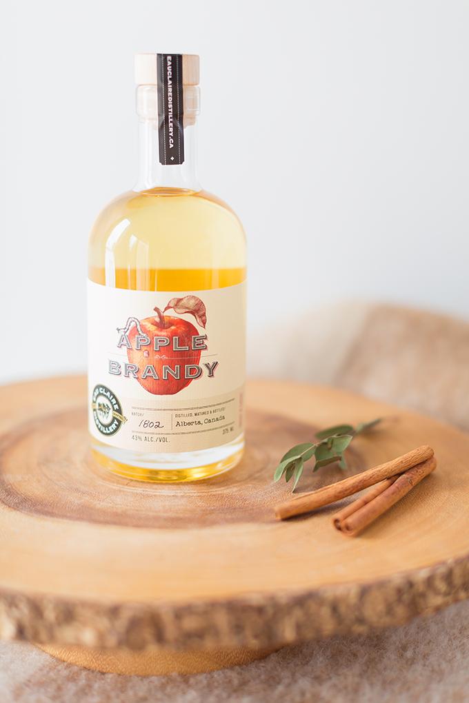 Eau Claire Distillery's Limited Edition Apple Brandy   Apple Brady Sangria Recipe // JustineCelina.com