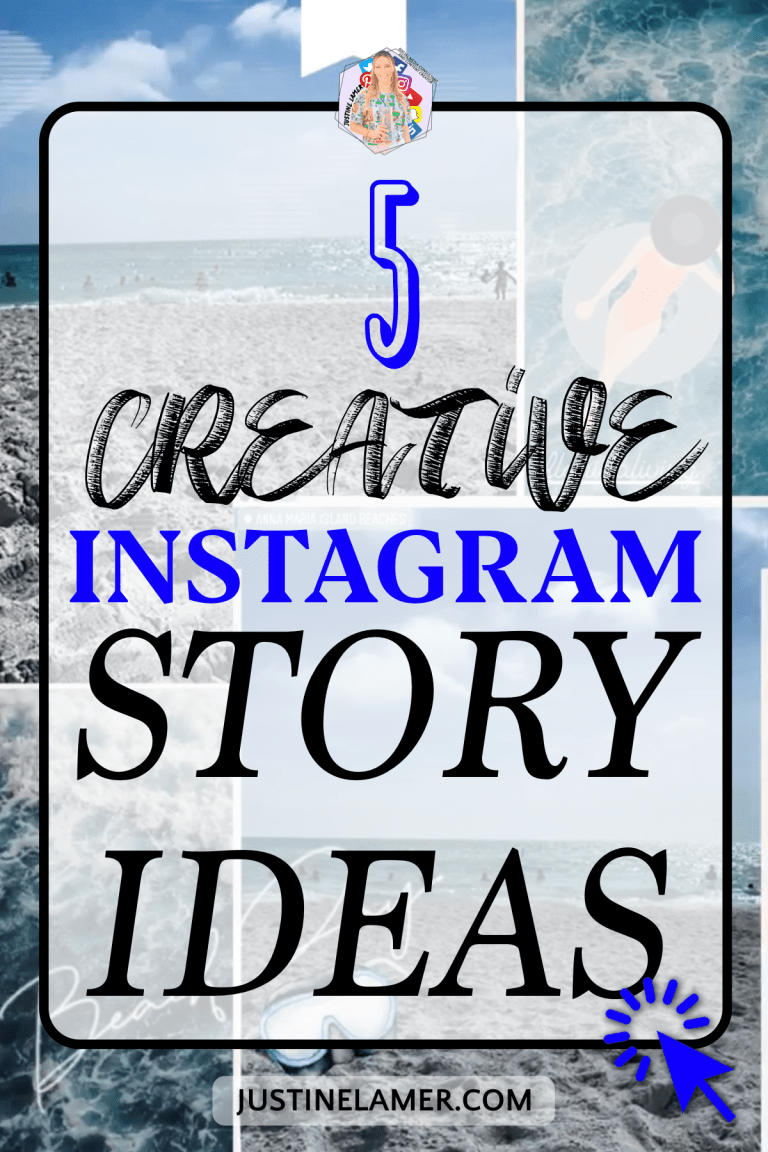 5 creative Instagram story ideas.