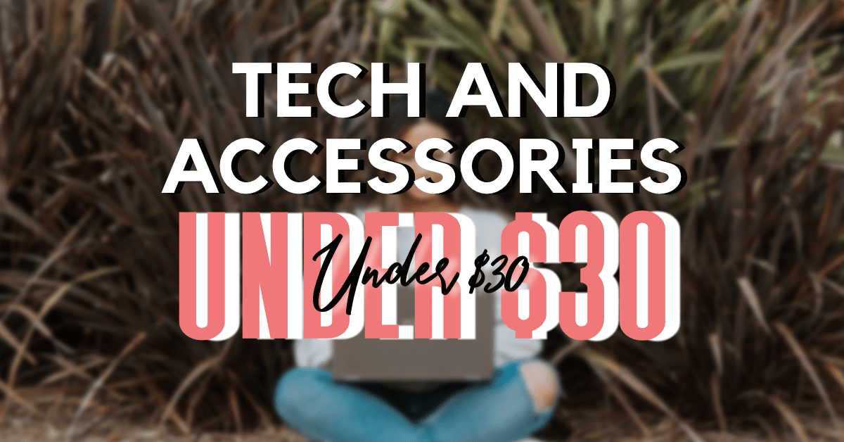 7 amazon tech and accessories under $30