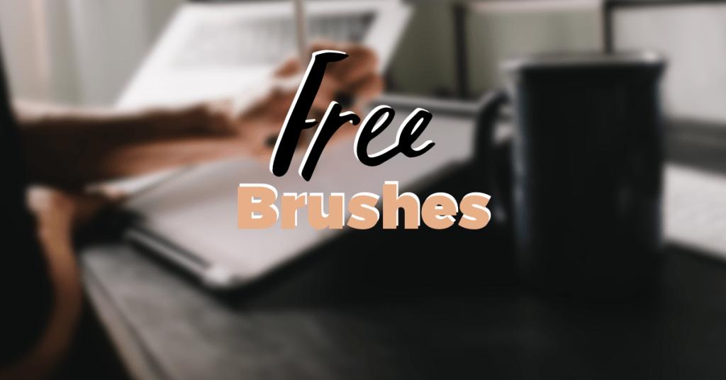 5 awesome free procreate brushes