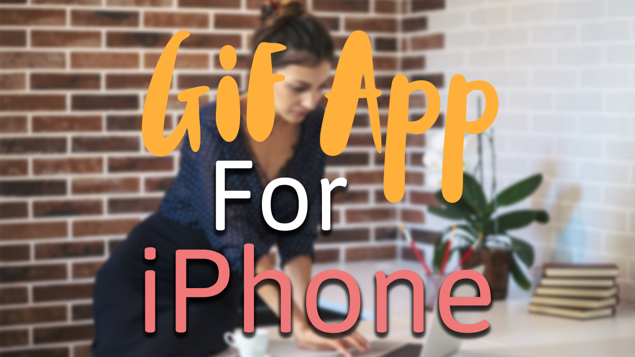 Easy animated gif app for iphone