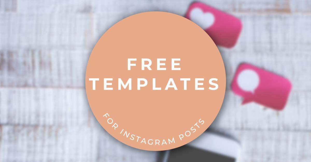 5 free social media templates