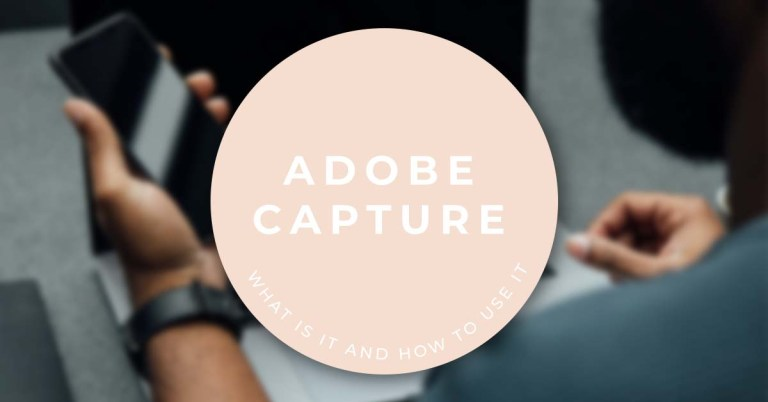 what is adobe capture