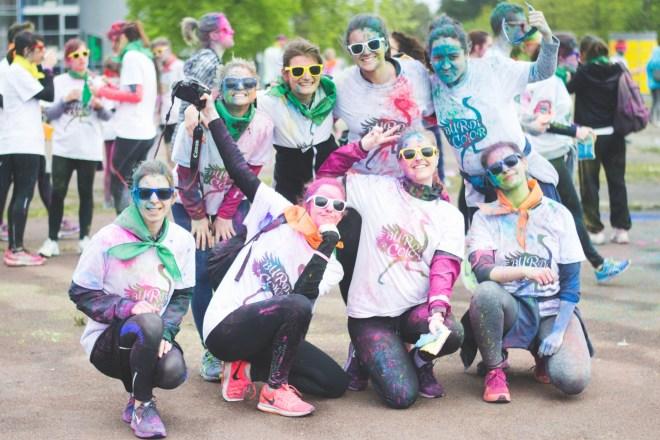 Photo de groupe après Burdi'color
