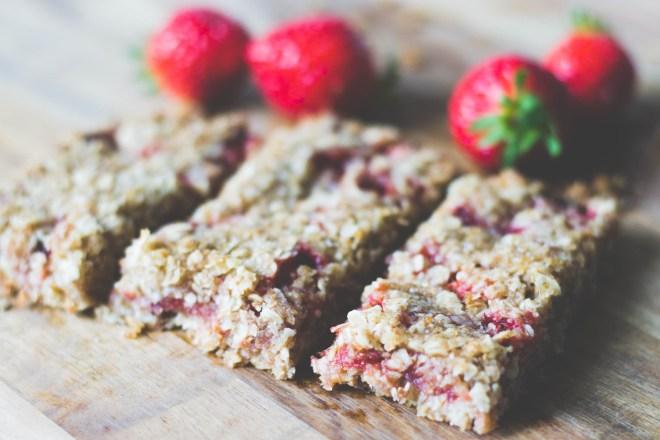 Barre granola fraise