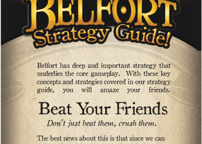Belfort Game Informational Insert