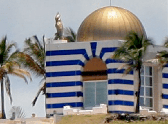 Epstein's Private Pedo-Island Temple Destroyed?
