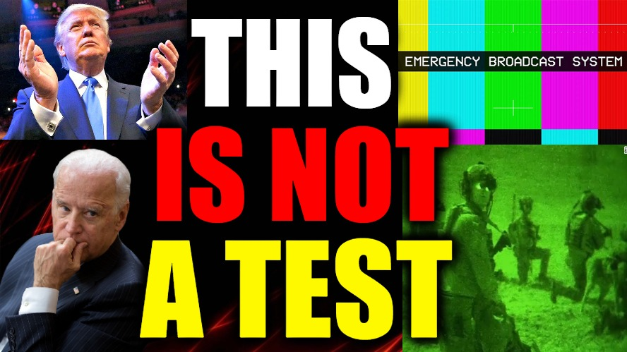 This Is NOT A Test!!!