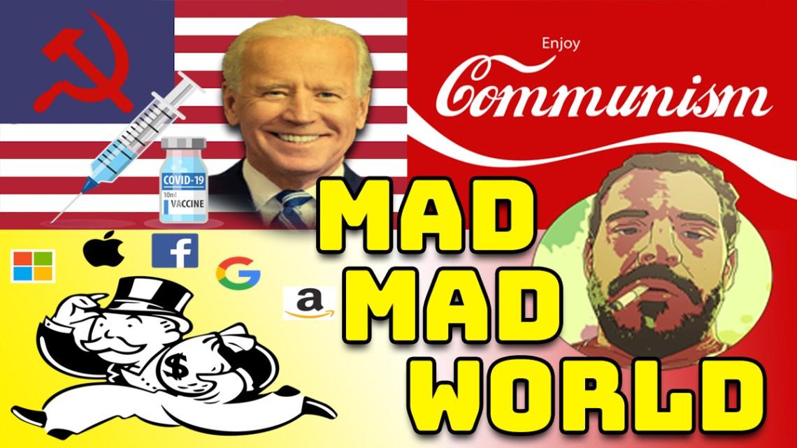 VAX Social Credit Score, Big Tech Purging FREE Speech, & Tucker Carlson SETUP By Biden CIA Asset?