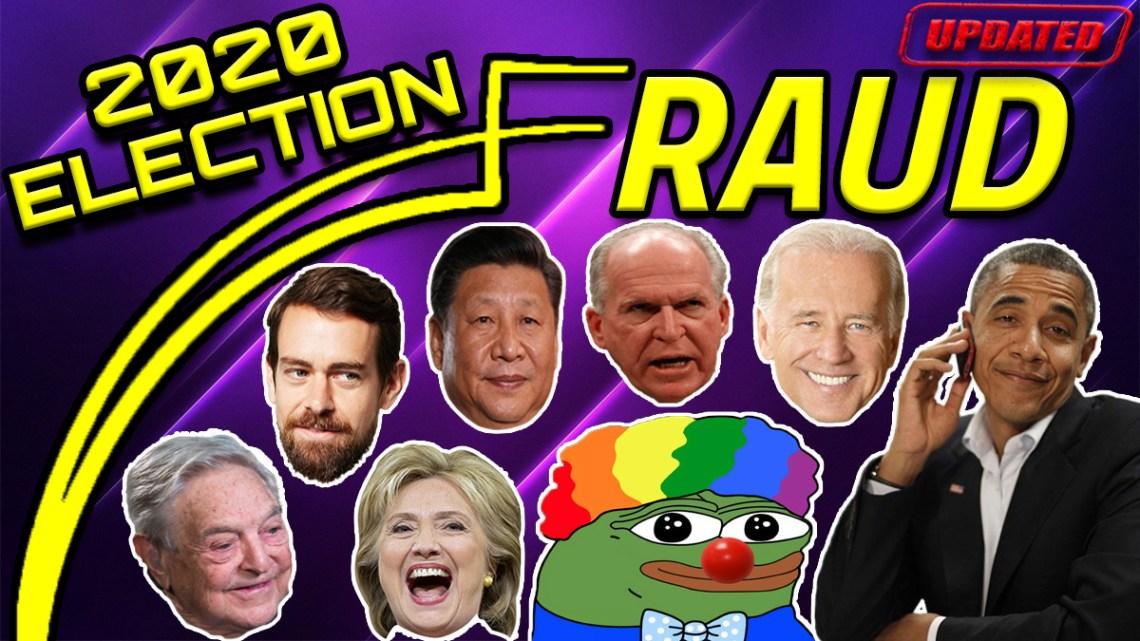 2020 Election Fraud *UPDATED* (Criminal Fraud Biden Edition)