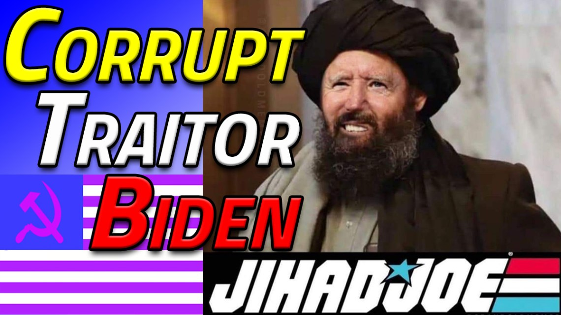 Corrupt Traitor Biden: Who Is Really In Control?