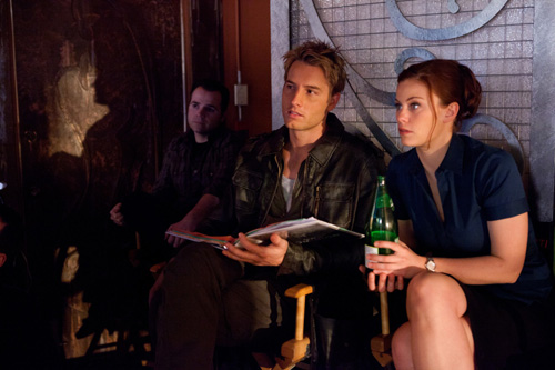 BEHINDTHESCENES WITH DIRECTOR JUSTIN FROM SMALLVILLE