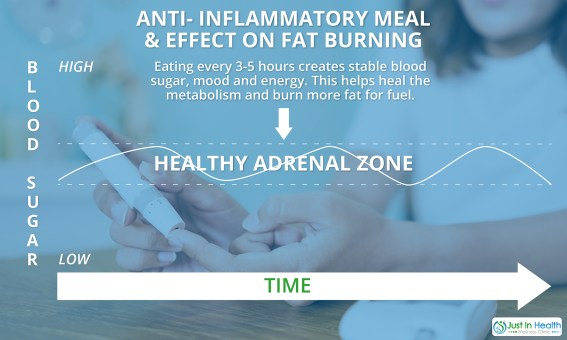 AntiInflammatory Meal And Effect On Fat Burning