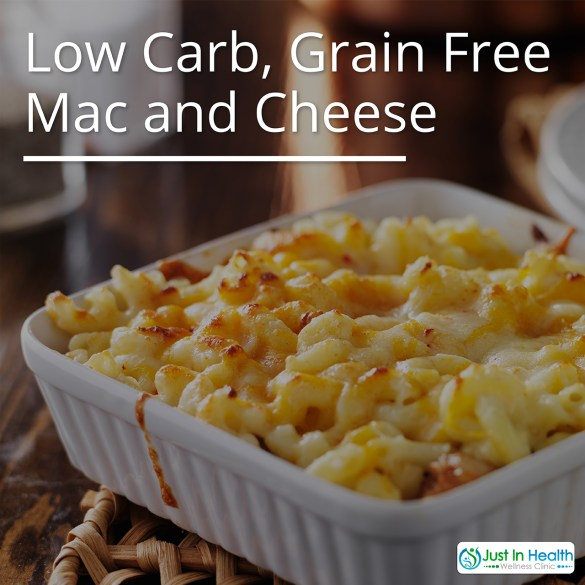 Low Carb Grain Free Mac And Cheese