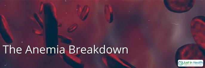Anemia Breakdown