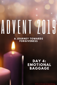 """Advent Cover Title: """"Emotional Baggage"""""""