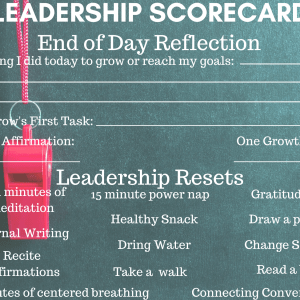 Leadership Scorecard page 2
