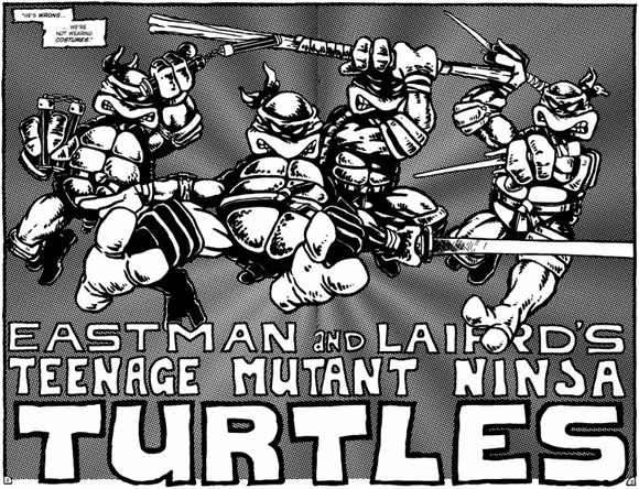 Teenage Mutant Ninja Turtles original comic book