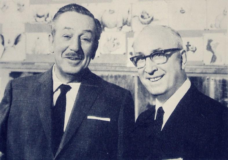 Brothers: Walt and Roy O. Disney