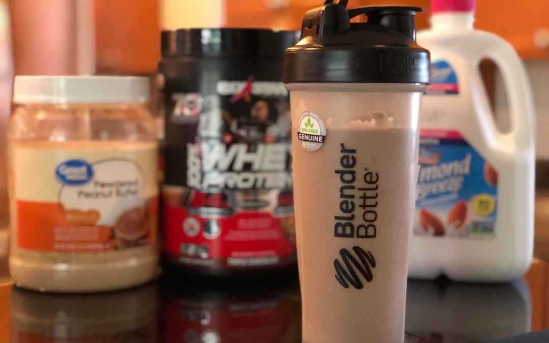 My Favorite Easy-To-Make Protein Shake