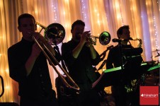Horn Section from EBE's band, London Bridge