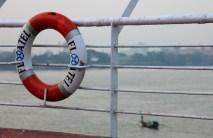The Floatel Hotel on the Ganges River - Kolkata, India