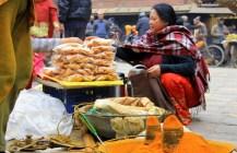 The Busiest Street corner in Kathmandu