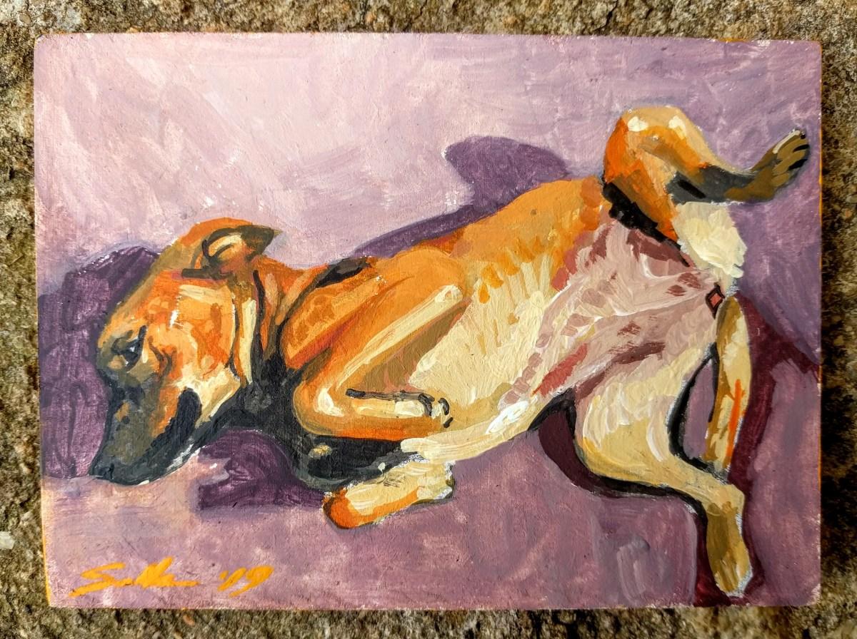 4 - Paintings - Baloo's friend