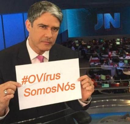 #OVírusSomosNós, Justino, 2020.