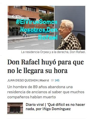 ElVirusDonRafael, Justino, Digital, 2020.