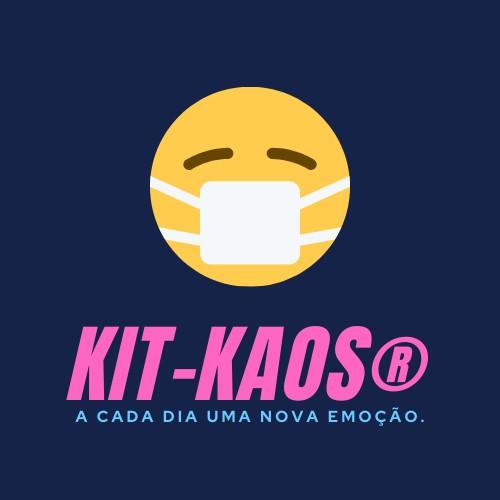Logotipo KIT-KAOS, Justino, logotipo digital, 2020.