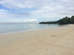 Beach at White Haven, Glan (That's the Celebes Sea. Can you see Malaysia/Indonesia?)