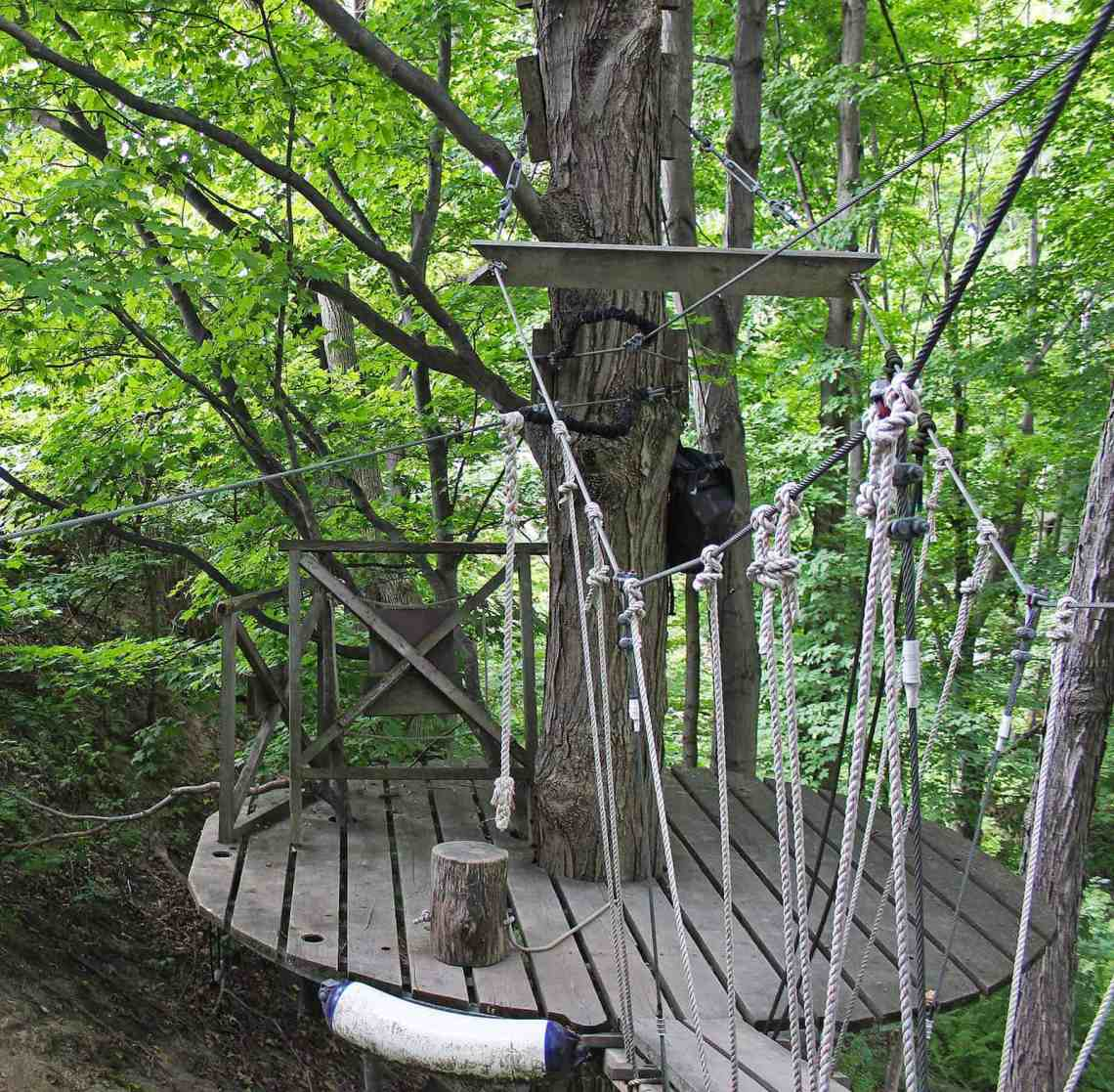 Long Point Zip Line and Canopy Adventure, Ontario, Canada
