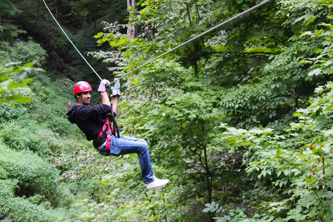 Long Point Zip Line and Canopy Tour, Ontario, Canada