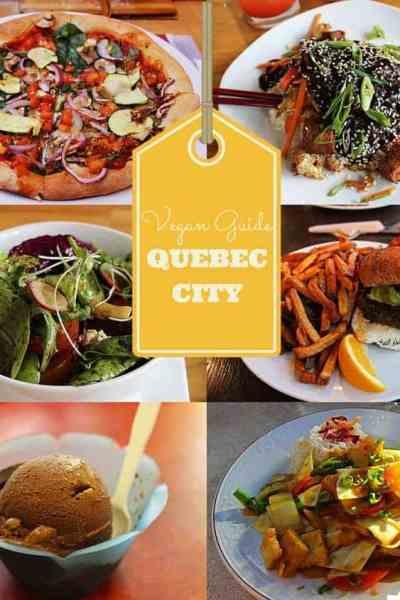 Vegan Guide to Quebec City