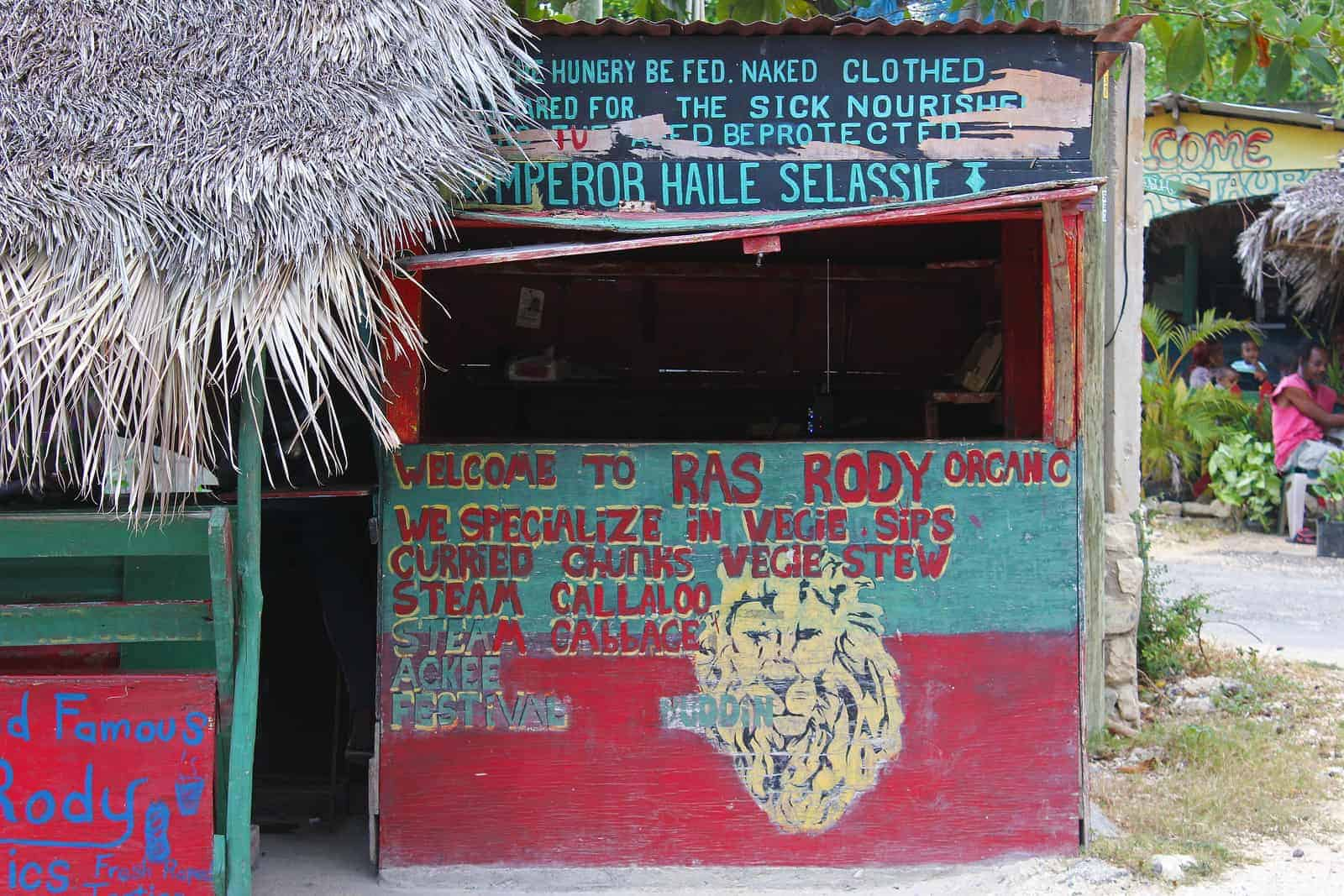 Ras Rody's Roadside Organic Vegan in Negril Jamaica