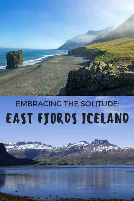 Embracing the Solitude: East Fjords Iceland