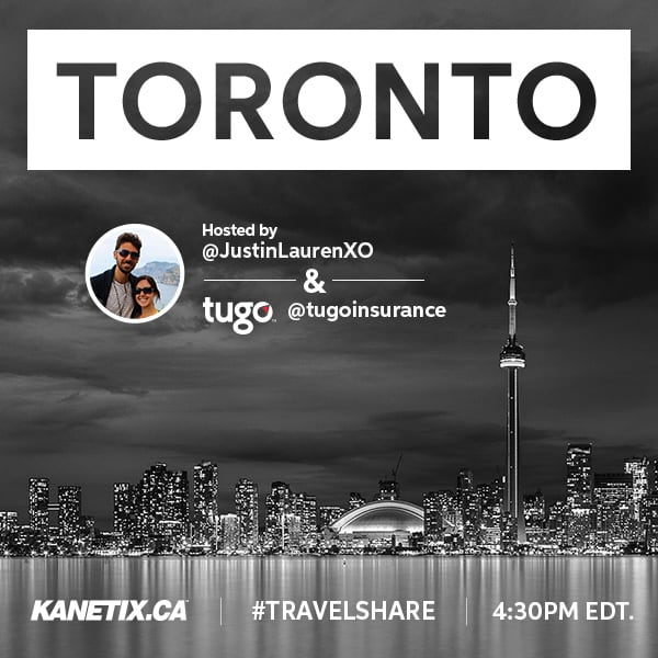 Travelshare-Title Join Me For TravelShare: The Top 150 in Toronto!
