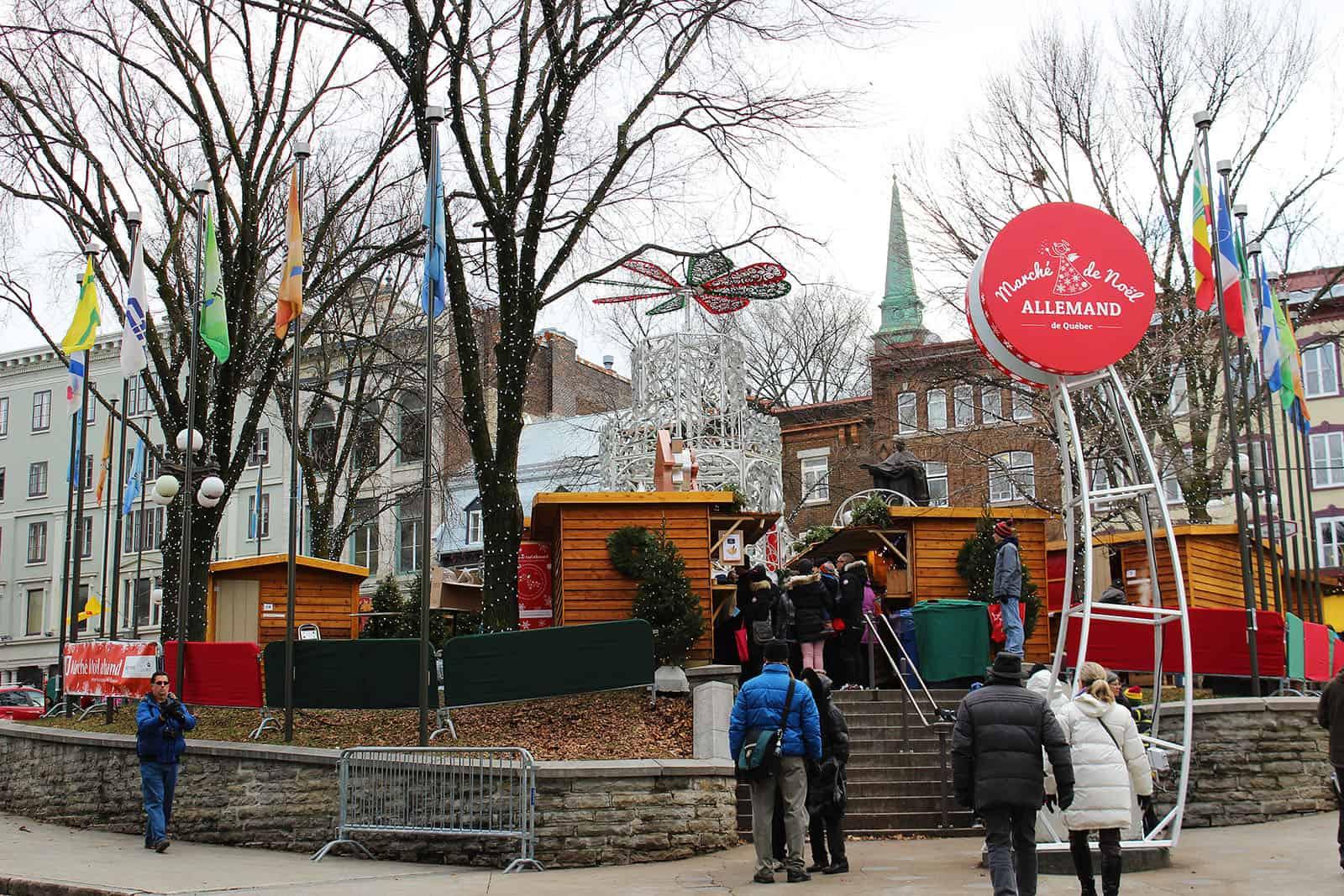 The Enchanting Quebec City Christmas Market