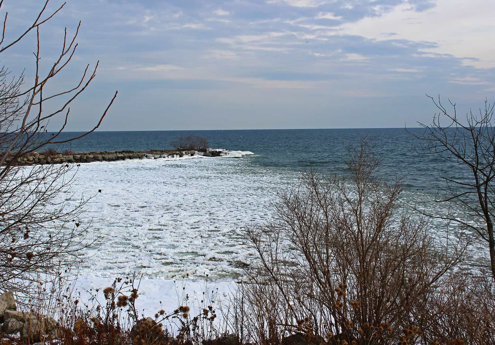 Tourist In Our Town: Port Credit in the Winter