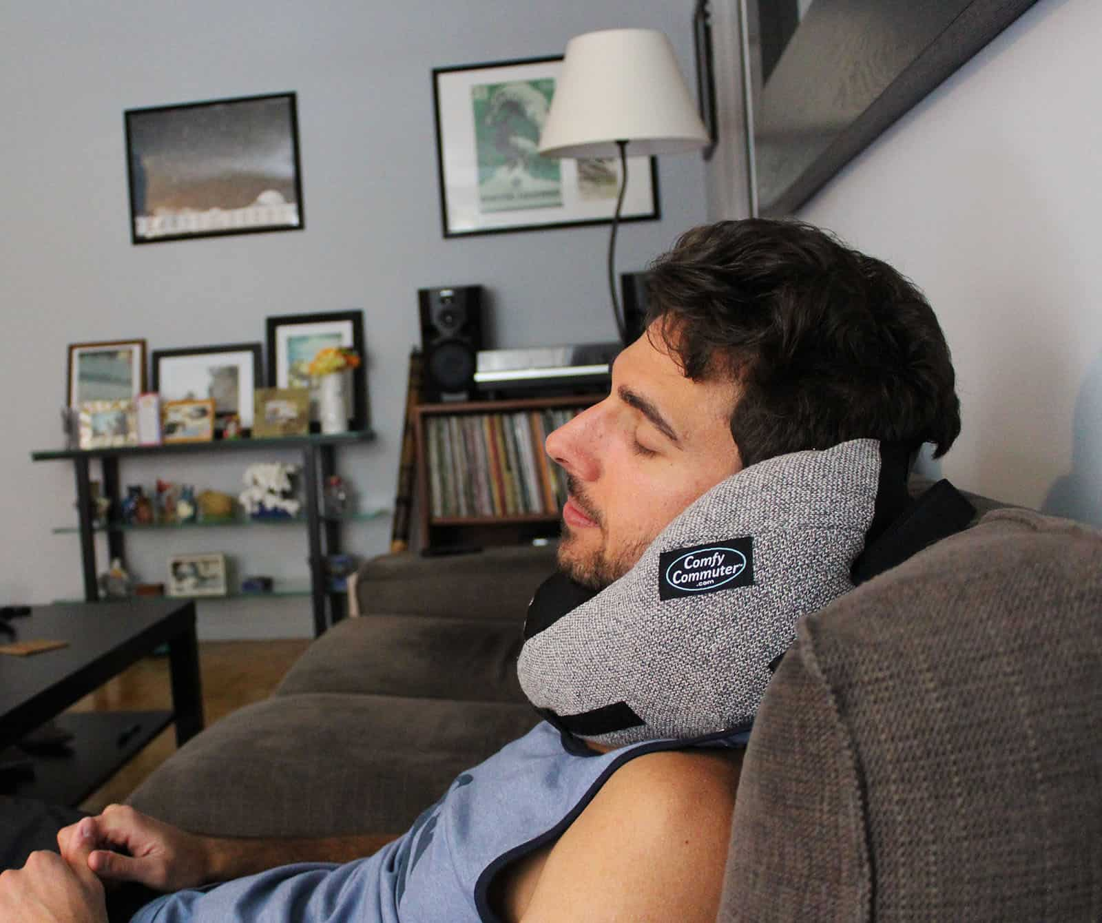 Review: Comfy Commuter Travel Pillow