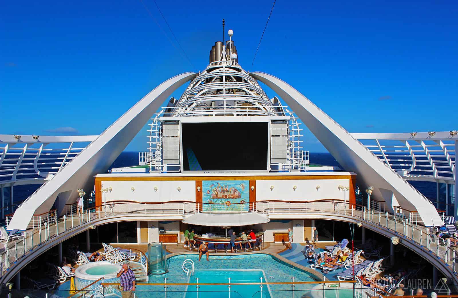 Caribbean Princess Cruise Ship Tour in Photos and Video