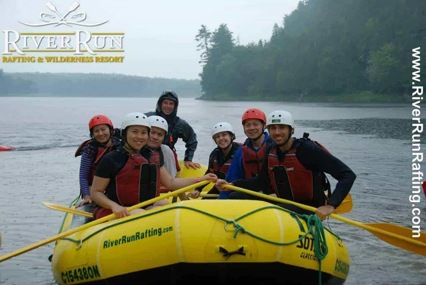 Whitewater Rafting in Ottawa with RiverRun Rafting and Samba Days