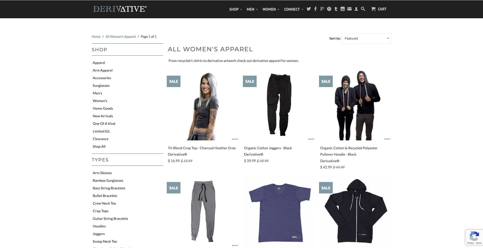 derivative apparel
