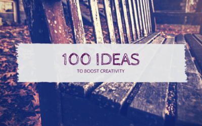 100 Ideas to Boost your Creativity