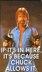 Chuck Allows it